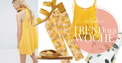 Die Trendfarbe Gelb und How to Wear Tipps auf meinem Modeblog