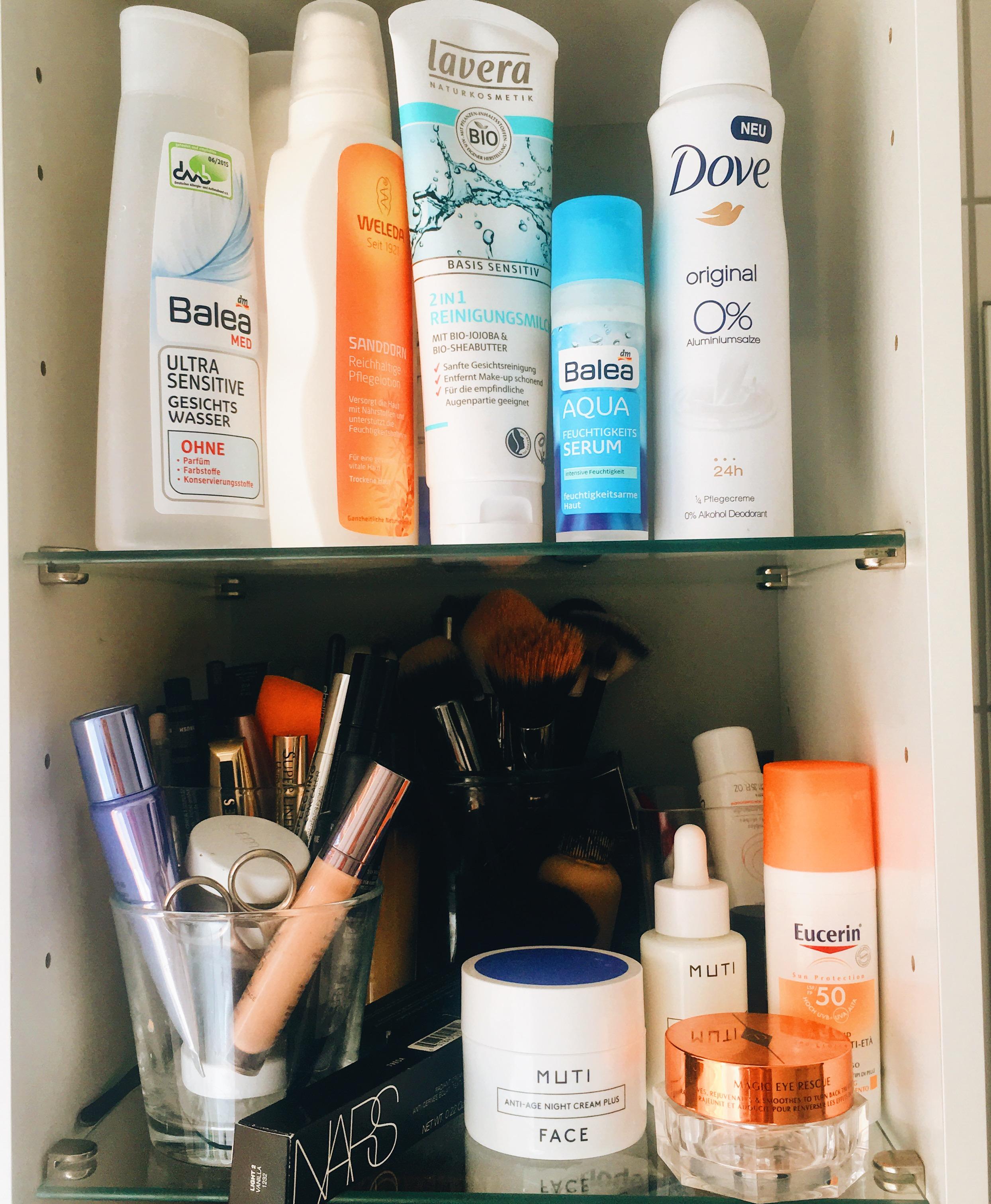 Meine Beauty Favoriten in einem Topshelf auf meinem Modeblog