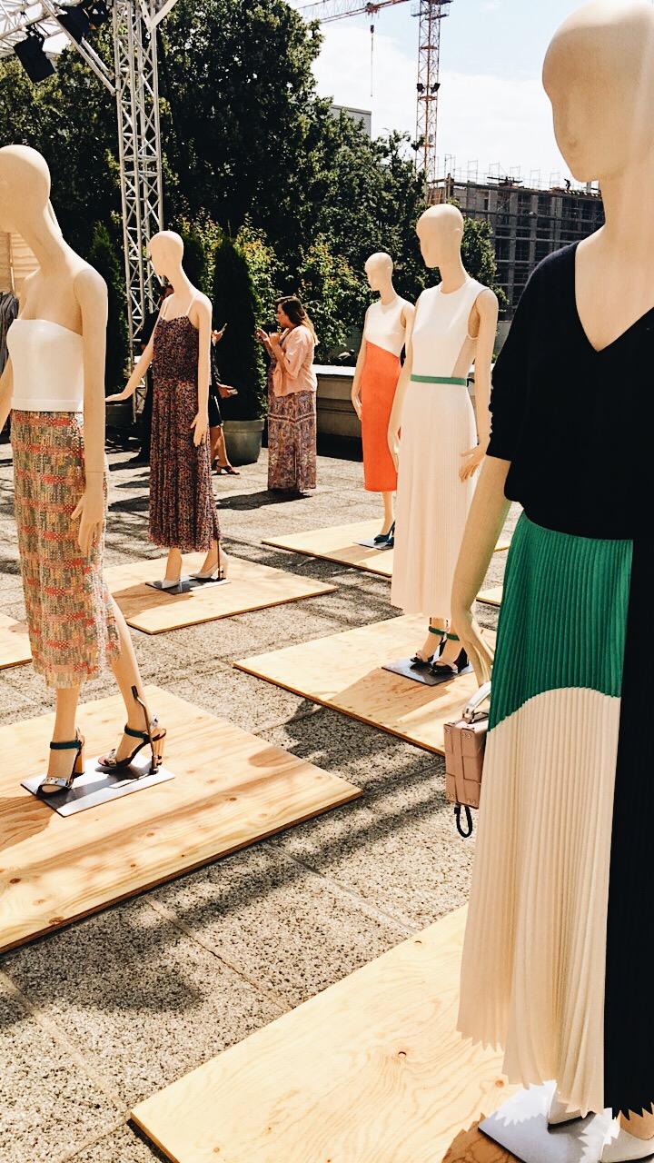 Die Kollektion von Hugo Boss im Berliner Modesalon