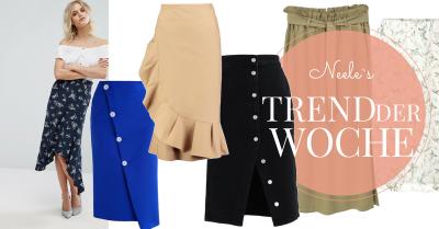 Midiröcke als Modetrend heute auf meinem Modeblog