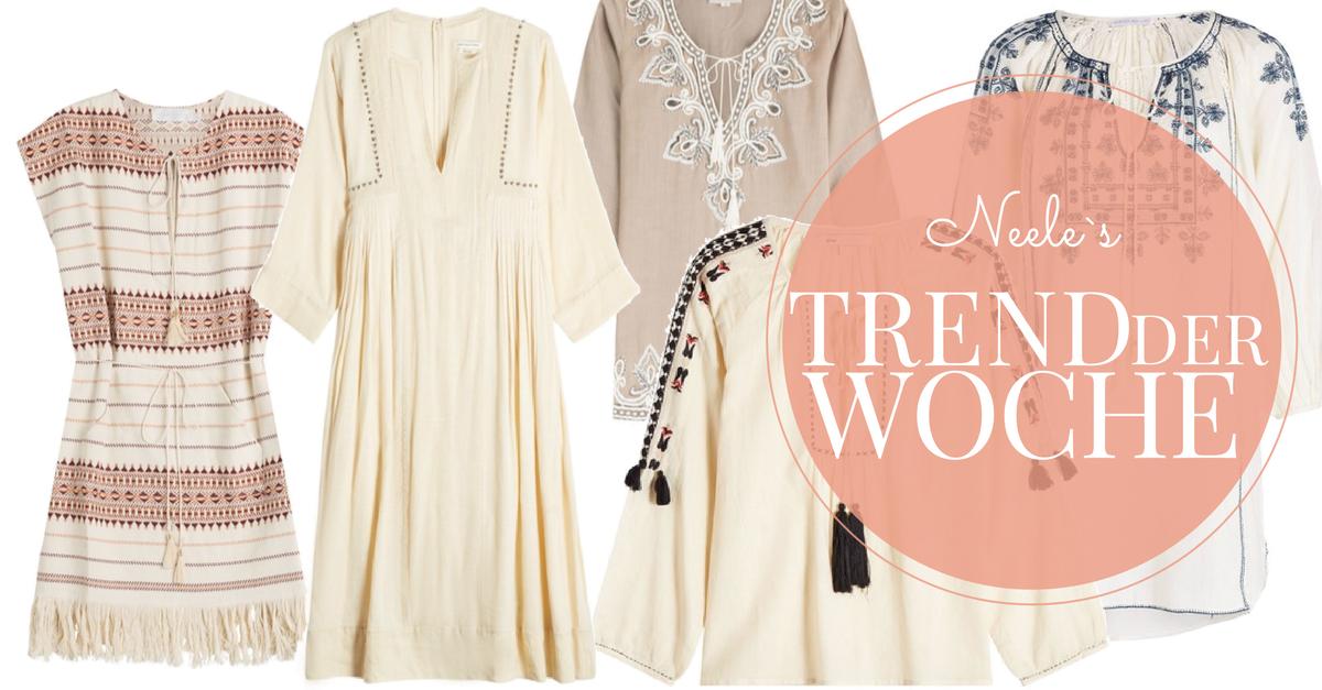 Der Modetrend Sommer 2017 Tunika heute auf meinem Modeblog.