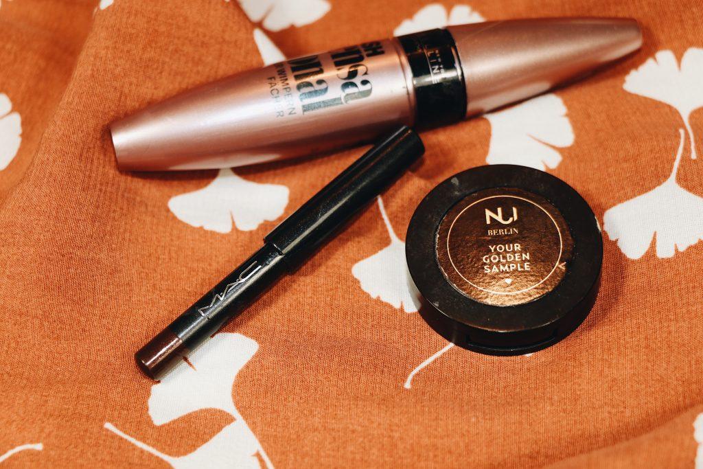 Make Up Favorites Kajal von Mac Augenbrauengel von NUI auf meinem Beautyblog