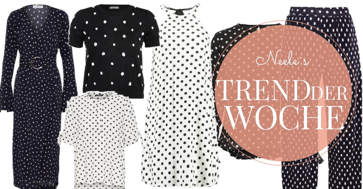 Modetrend Polka Dots auf meinem Modeblog