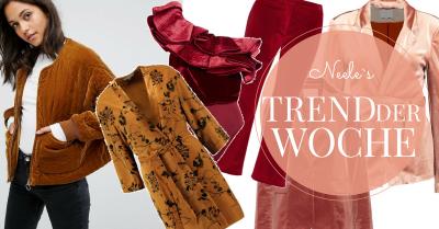 Der Modetrend Samt auf meinem Modeblog