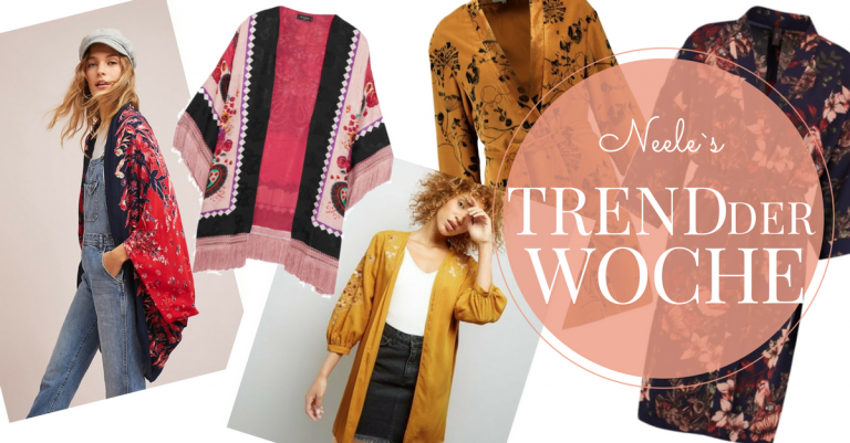 Modetrend Kimono Jacke auf meinem Modeblog