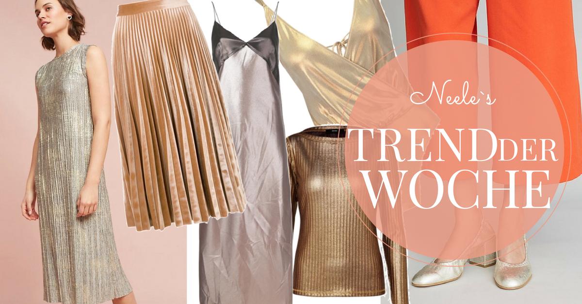 Metallic Modetrend Herbst Winter 2017 auf meinem Modeblog
