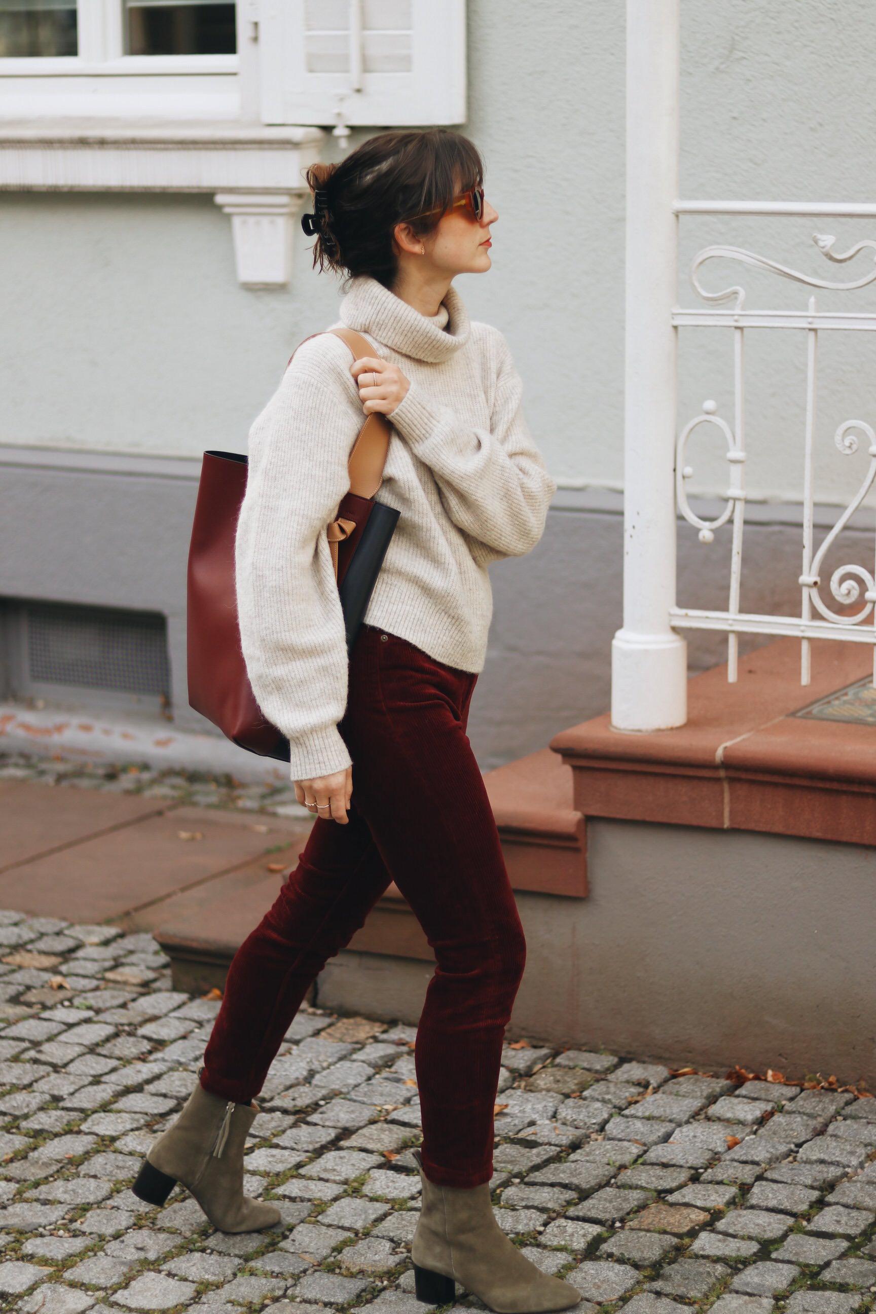 Samt Cord Outfit Modeblog Blog ootd Instagram Modeblogger