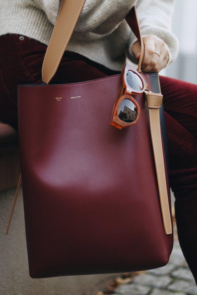 Celine Tasche Bag Outfit Ideen kombinieren