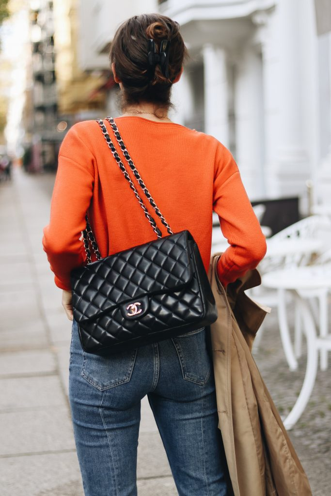 Chanel Tasche Blog Outfit streetstyle