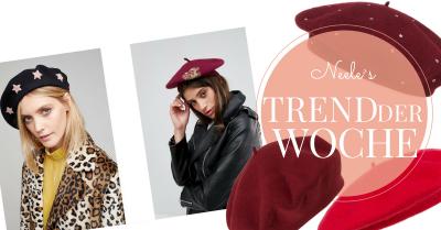 Baskenmütze French Chic Parisienne Modetrends Modeblog