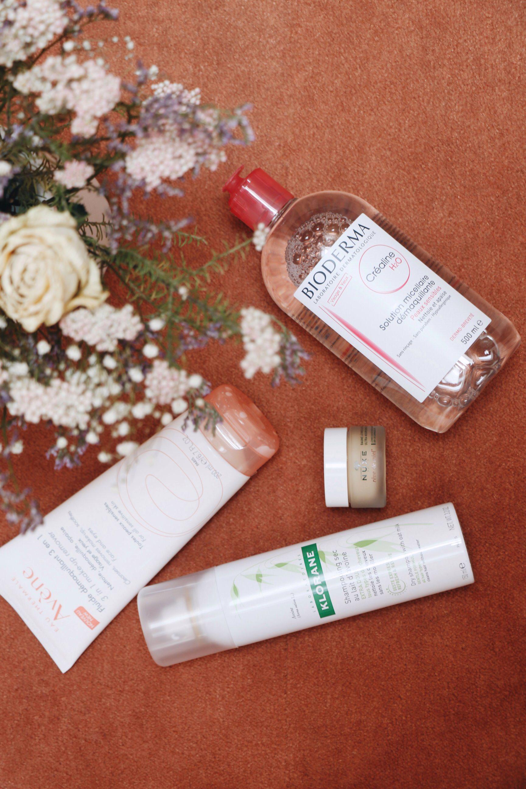 Beauty Blog Produkte Franzoesisch von Avene und Bioderma