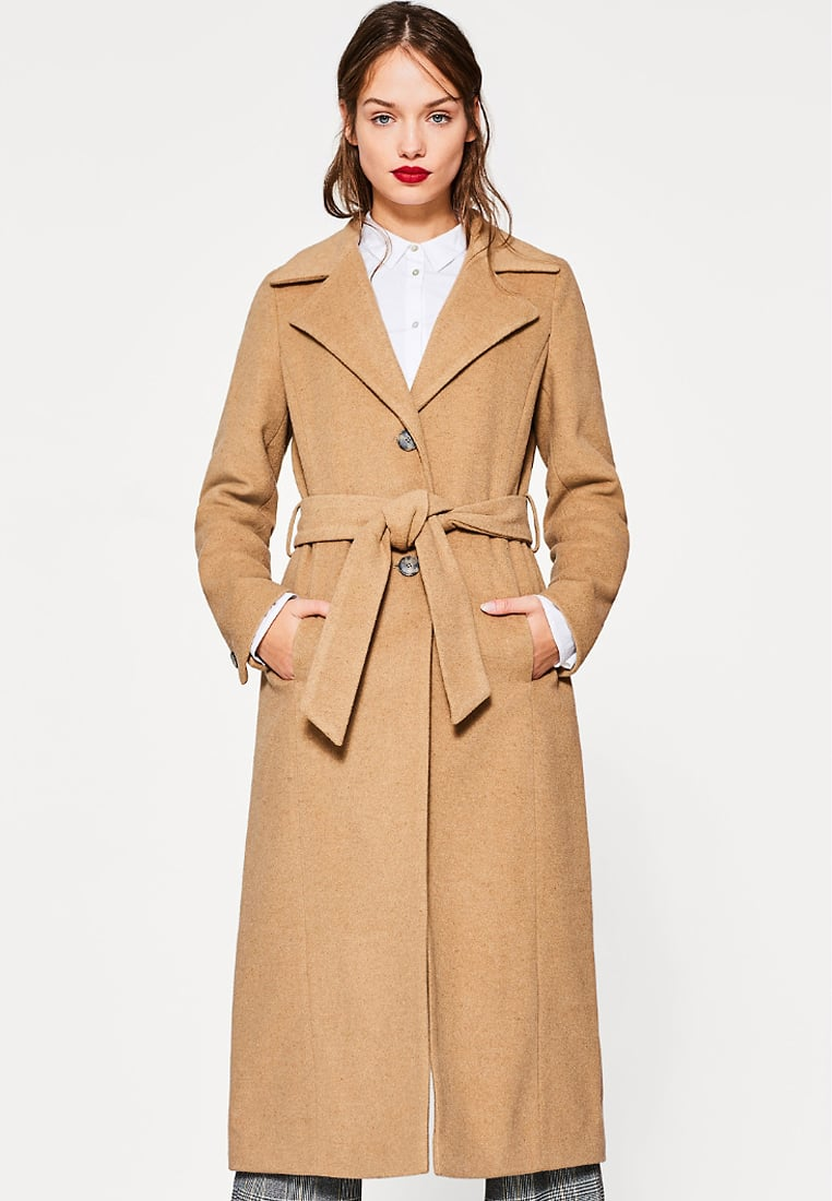 Camel Coat von Esprit auf meinem Modeblog