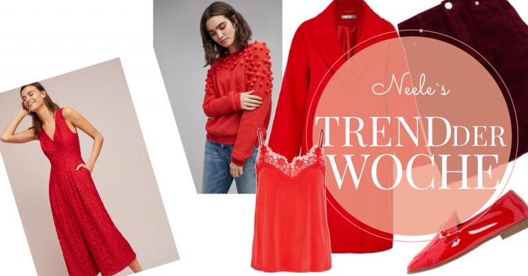 Rot Modetrend Herbst Winter 2017 auf meinem Modeblog