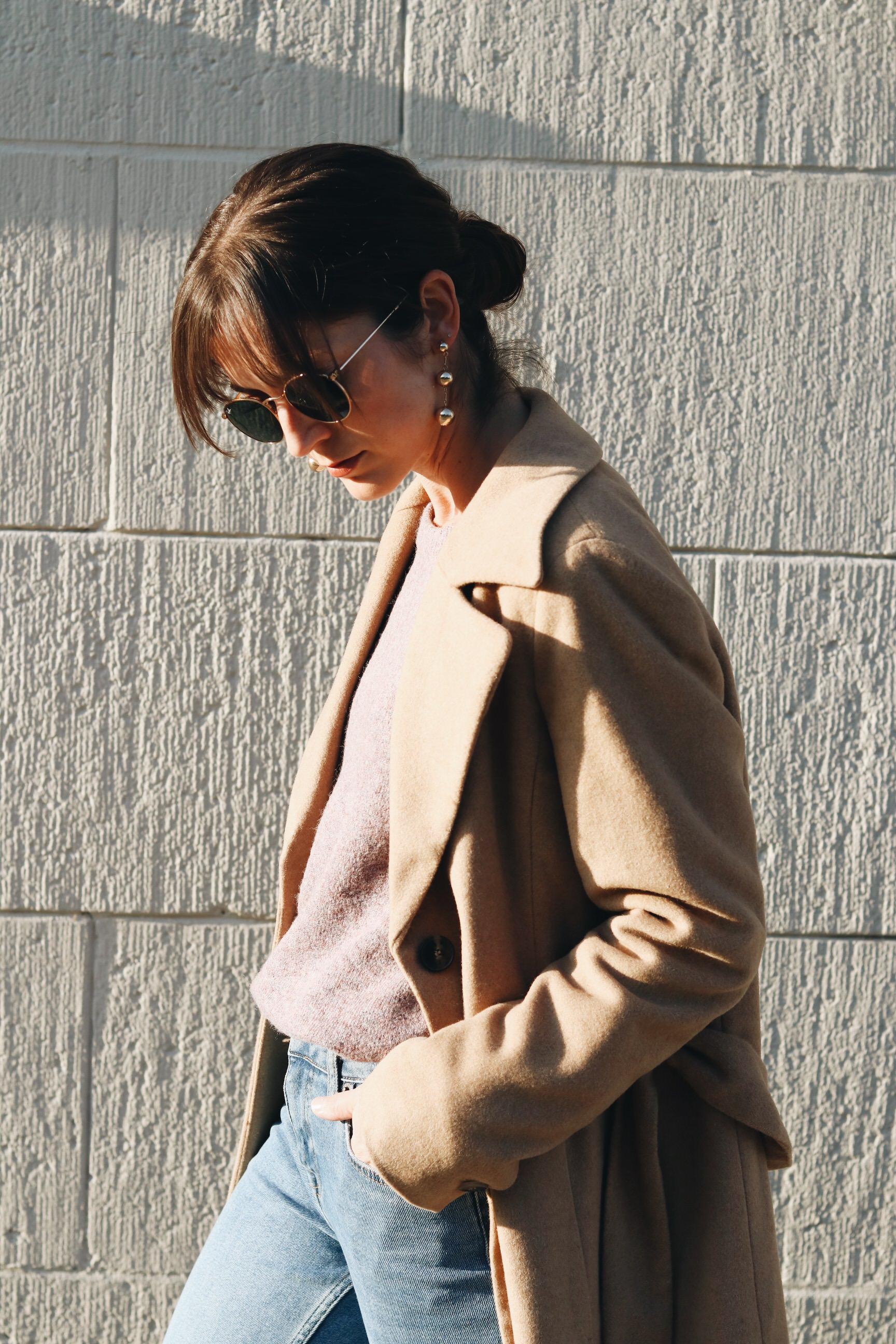 wintermantel mit kamelhaar kombinieren trends Modeblog Modebloggerin