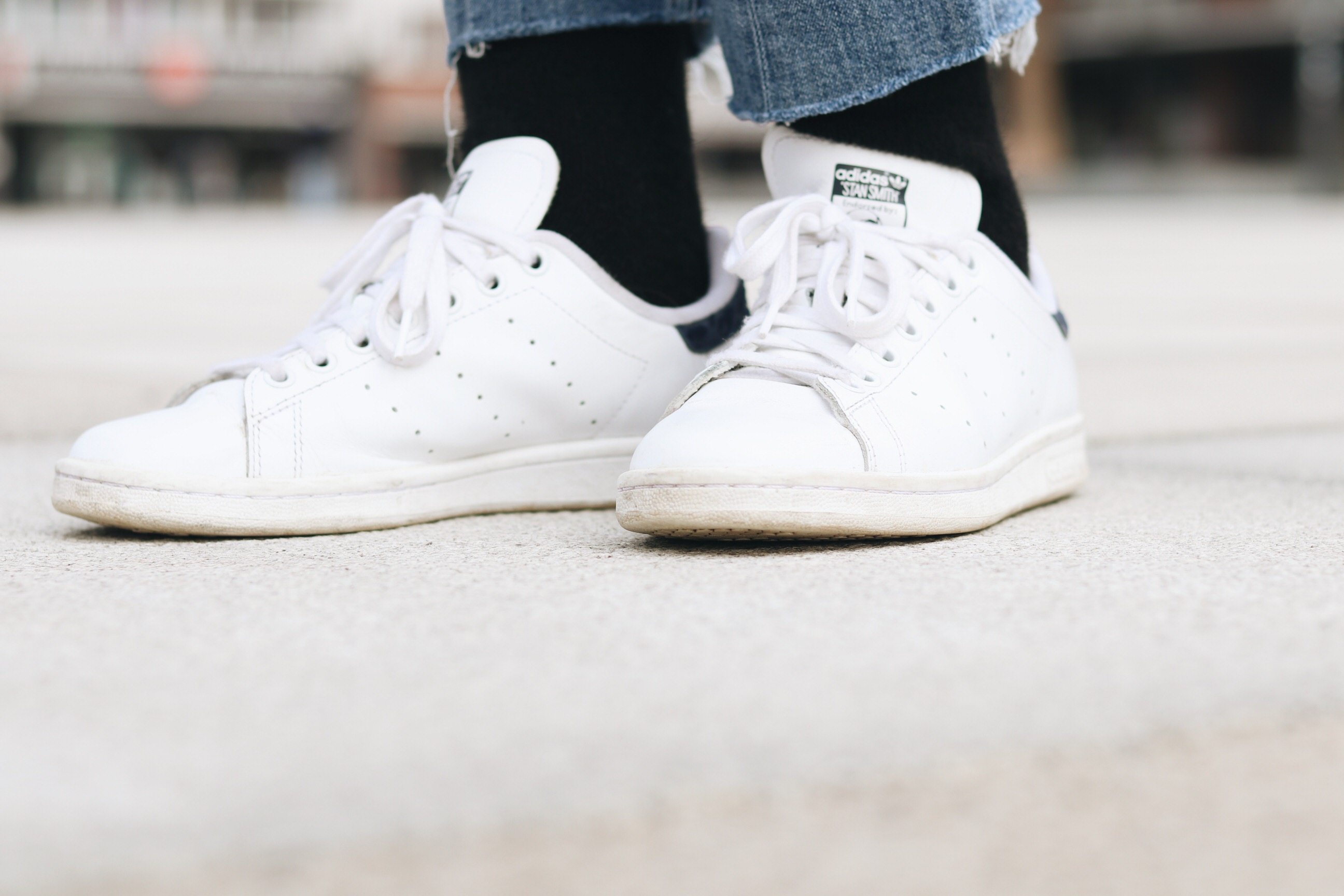 stan smith kombinieren Outfit Mode Bloggerin