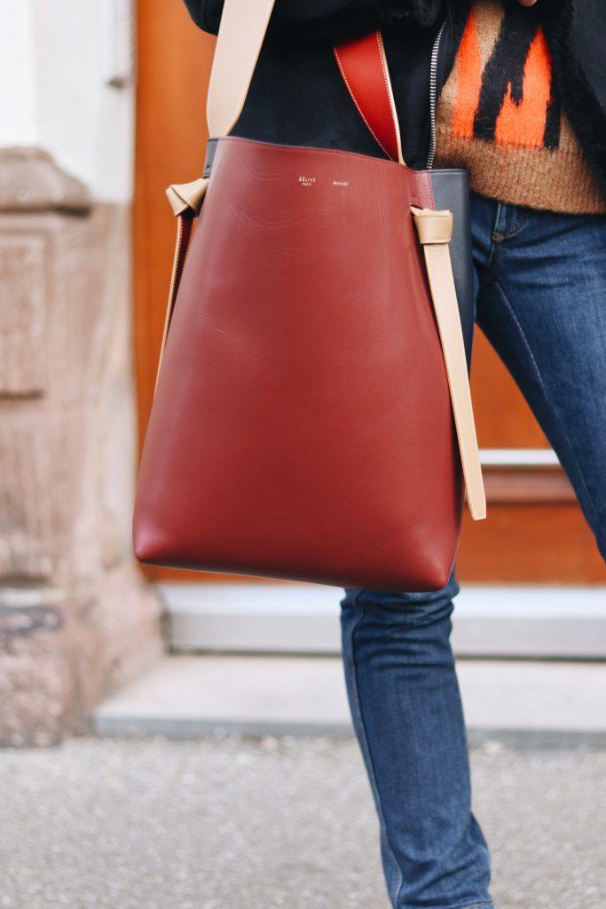 Celine Tasche kombinieren tragen Outfit Ideen Blog Pinterest