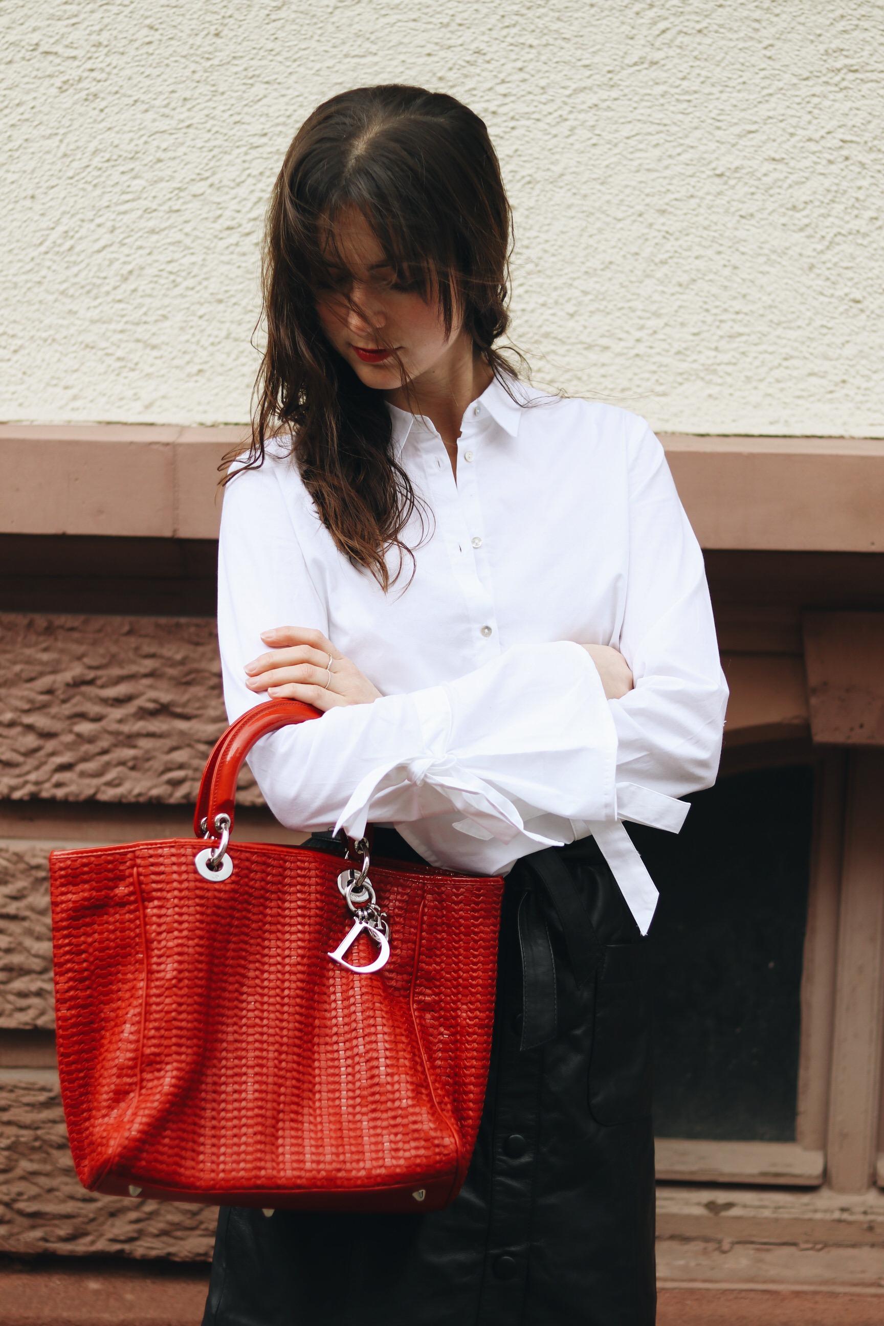 Modeblog Blog Deutschland deutsch dior Tasche kombnieren