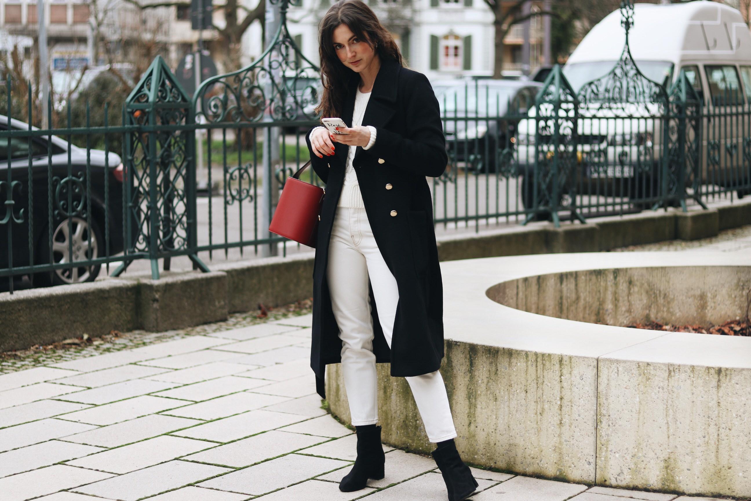 Modeblog Outfit Winter Modetrends all white Look Instagram deutsch Modebloggerin
