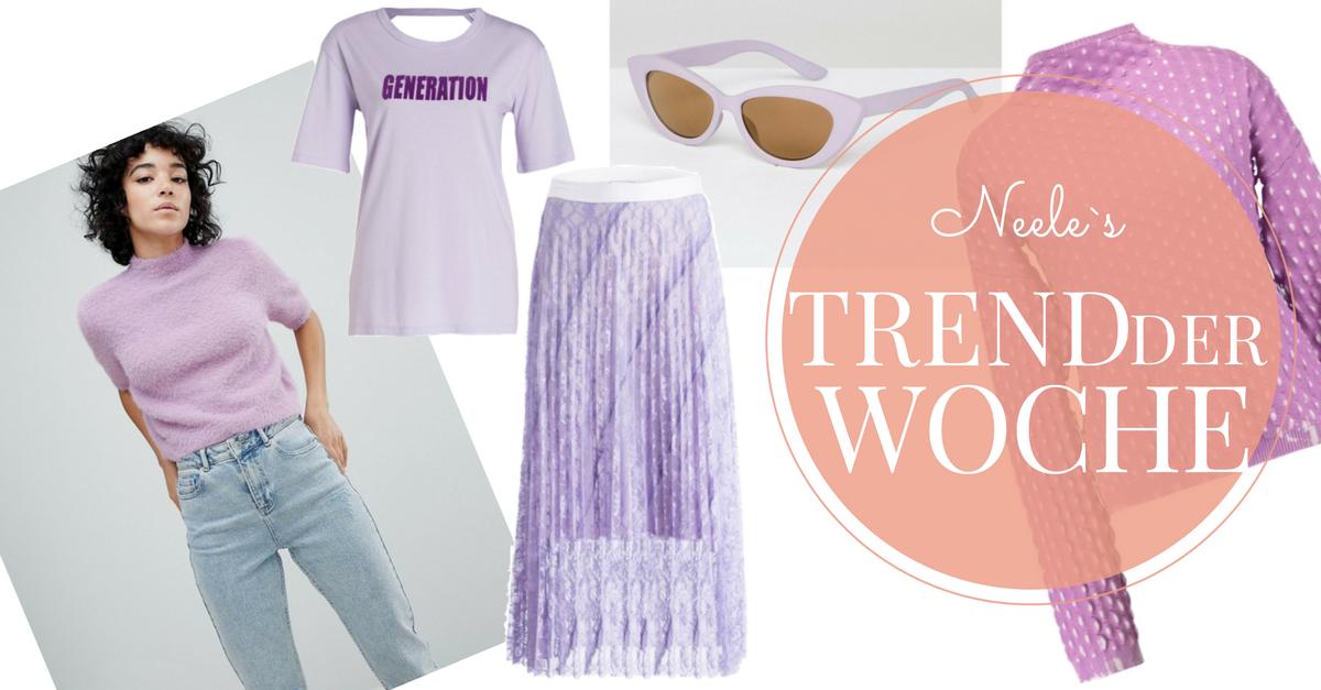 Pantone Farbe Ultra Violet auf meinem Modeblog