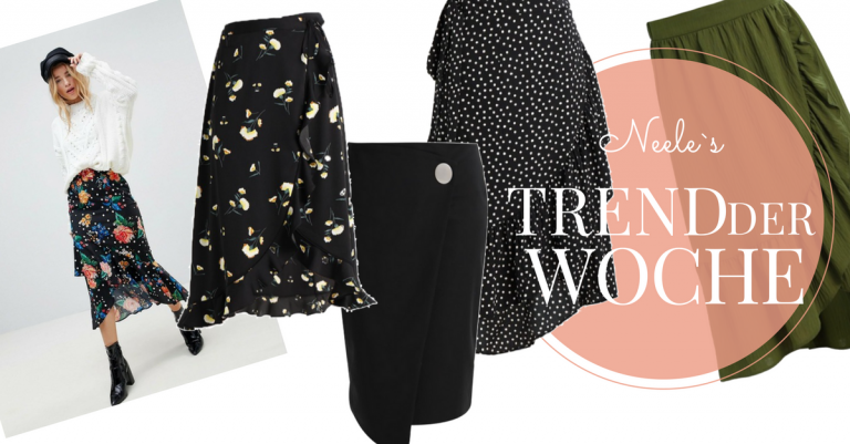 Wickelrock der Modetrend 2018 auf meinem Modeblog How to Wear Tipps
