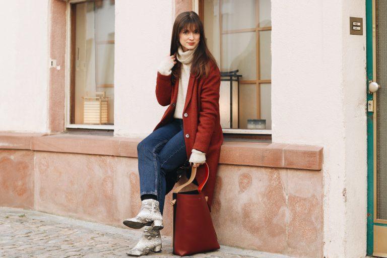 Céline Tasche Top 10 Taschentrends Modeblog Deutschland deutsch Modebloggerin Outfit Streetstyle Freiburg nach Berlin look Winter Neele