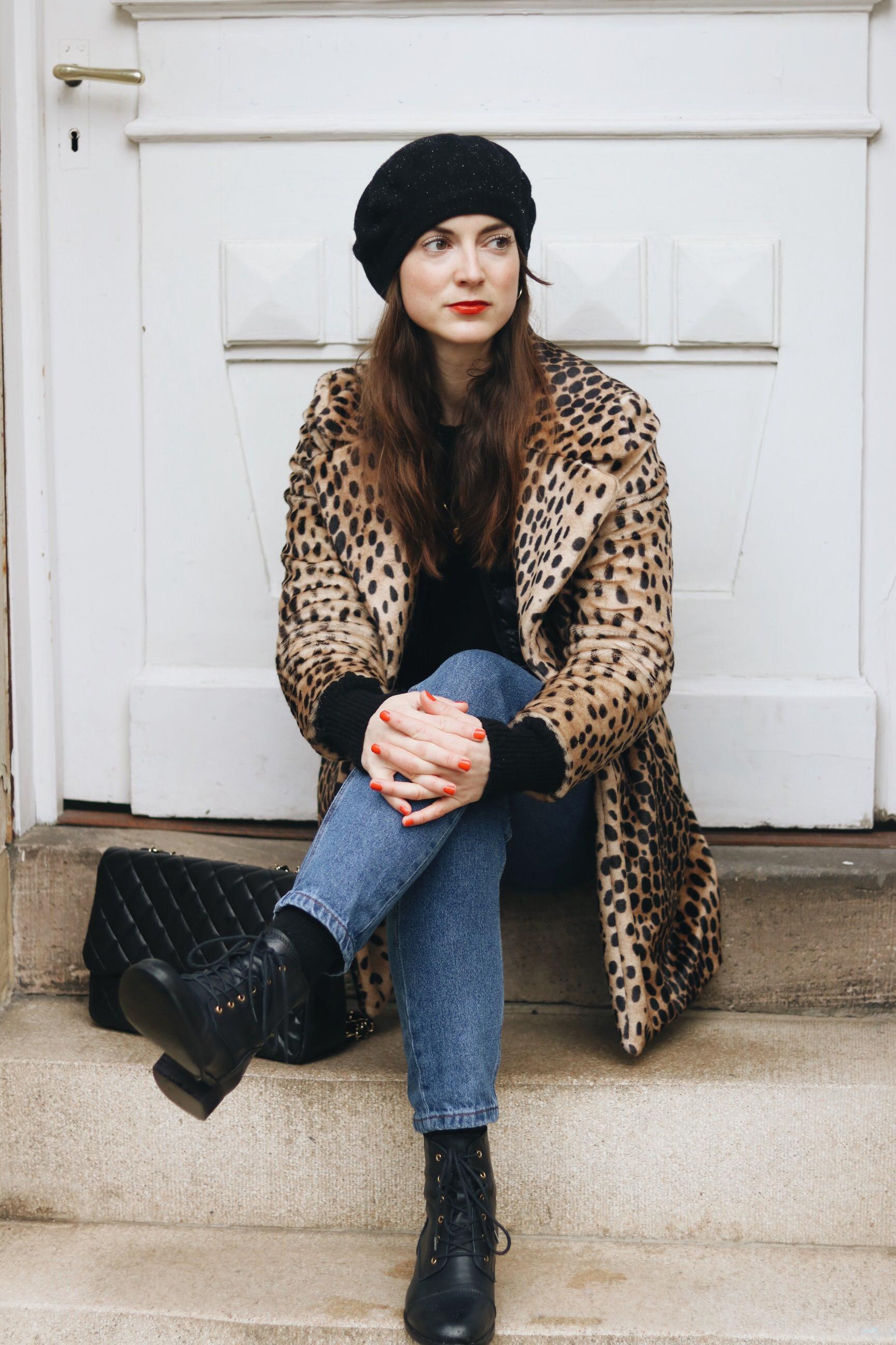 High Waist Jeans kombinieren Blog Outfit Post Instagram
