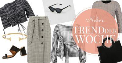 Vichy Karo und Karomuster der Modetrend Sommer 2018 auf meinem Modeblog How to Wear Tipps