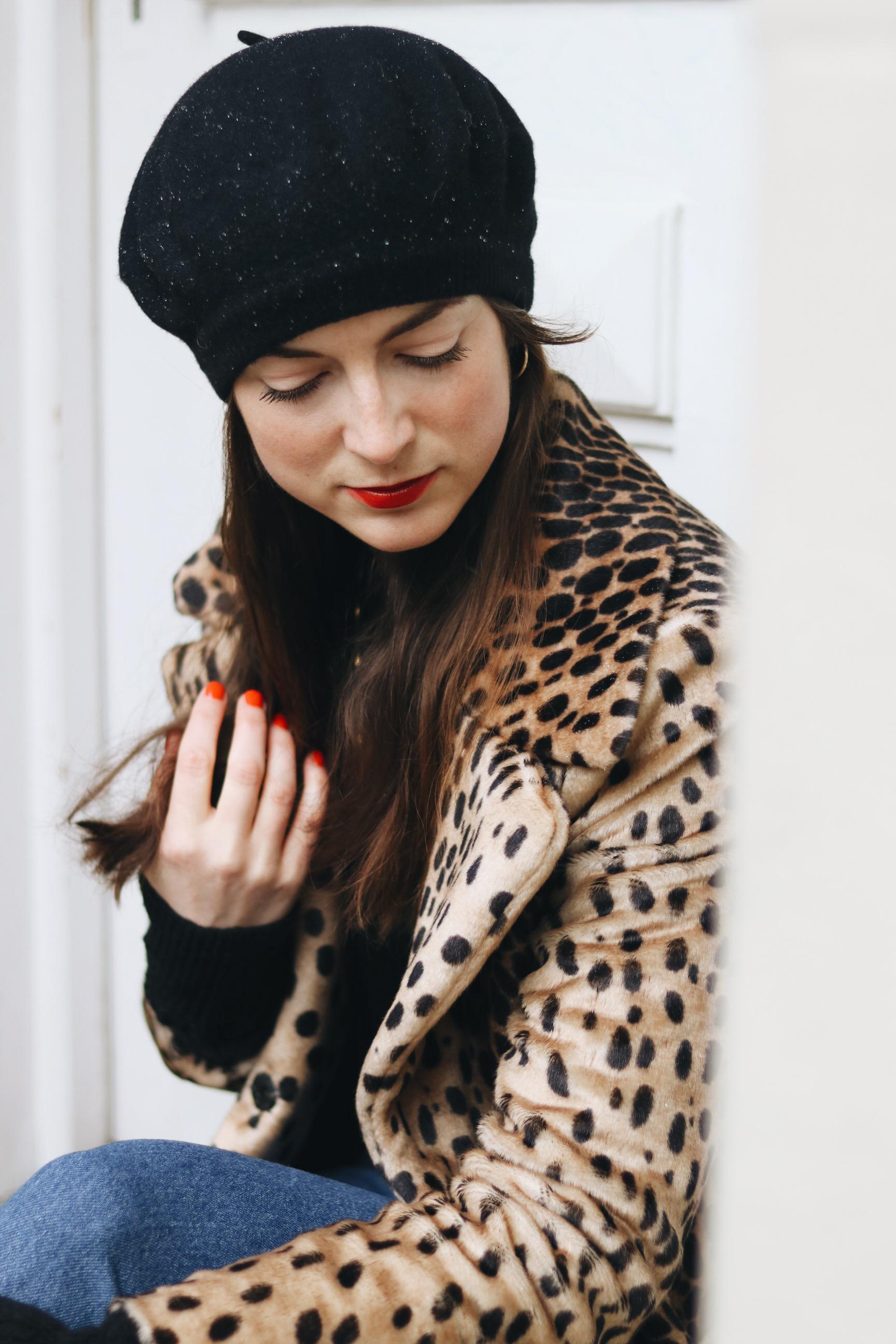 Leoprint Mantel Fashionblog BLog Outfit Streetstyle Look