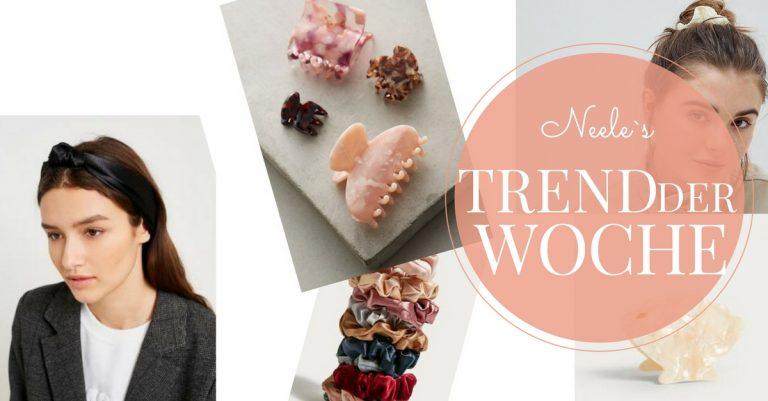 Der Modetrend Haarschmuck und Haarbänder auf meinem Modeblog