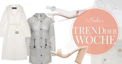 Modetrend Plastik und Transparenz auf meinem Modeblog