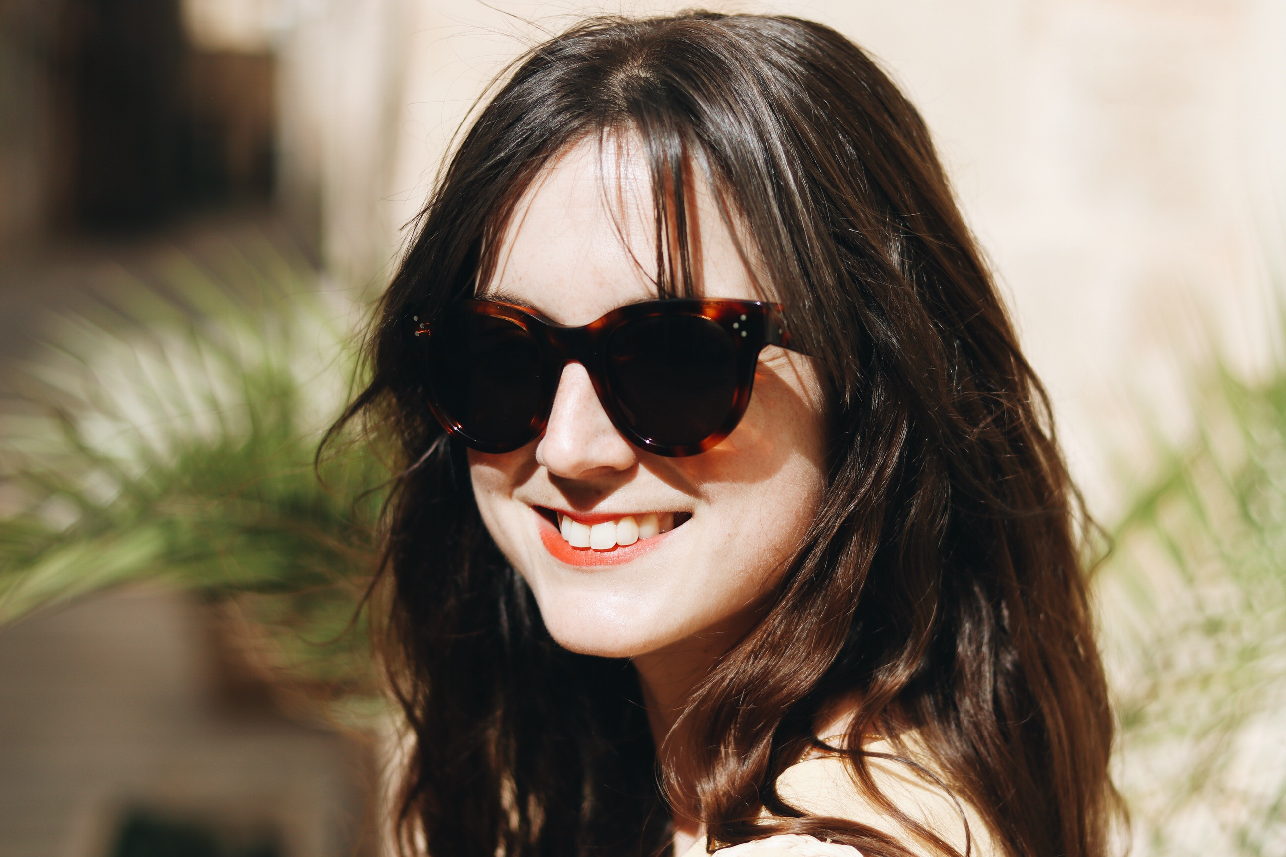 Celine Sonnenbrille Modeblog Outfit Sommer