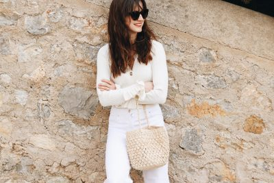 Neele Modebloggerin Modeblog Top 10 Korbtaschen Trends Sommer All White Look