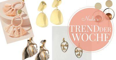 Statement Ohrringe und Kreolen auf meinem Modeblog
