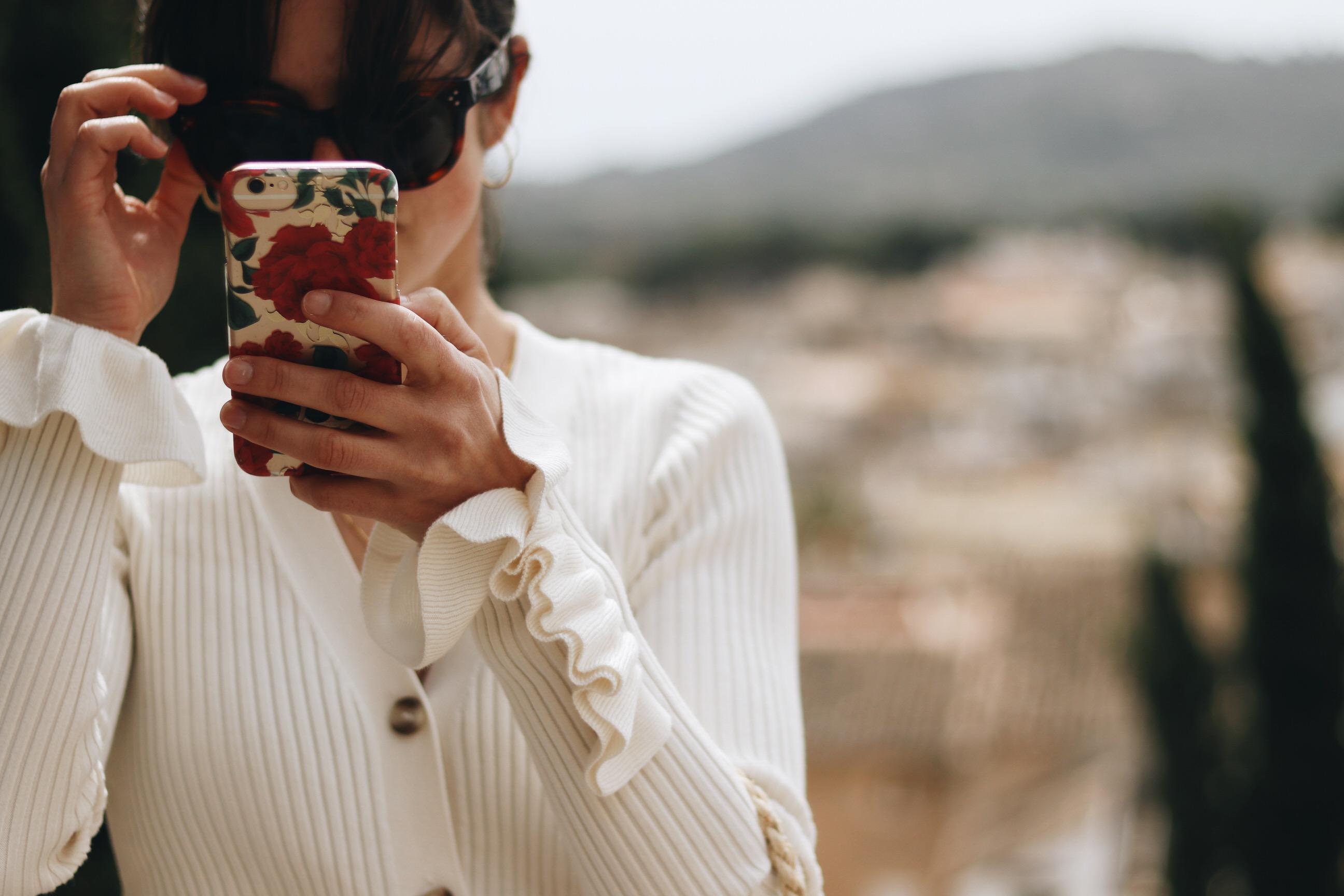 Volants kombinieren Outfit Ideen Blog Modebloggerin