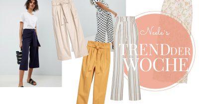 Stoffhosen der Modetrend auf meinem Modeblog