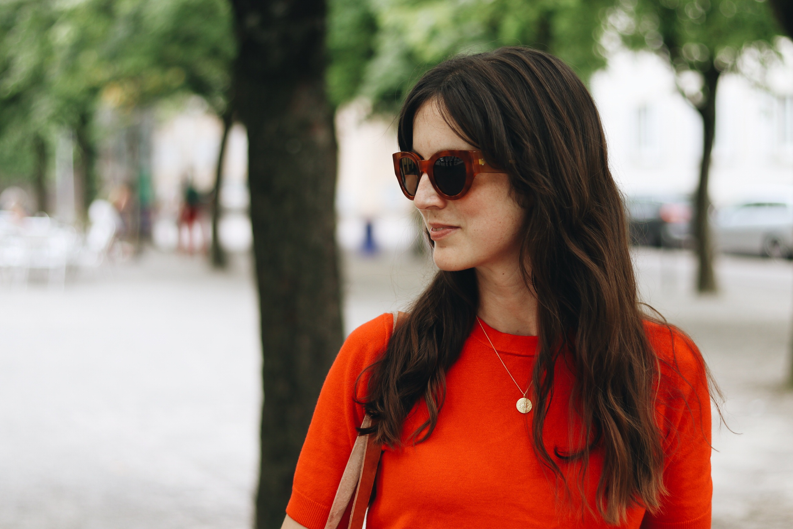 Celine Sonnenbrille french chic Blog Fashionblog Outfit Sommer