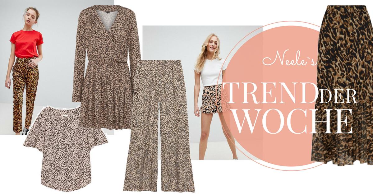 Leoparden Muster der Modetrend Leoprint auf meinem Modeblog und wie man Leomuster kombiniert