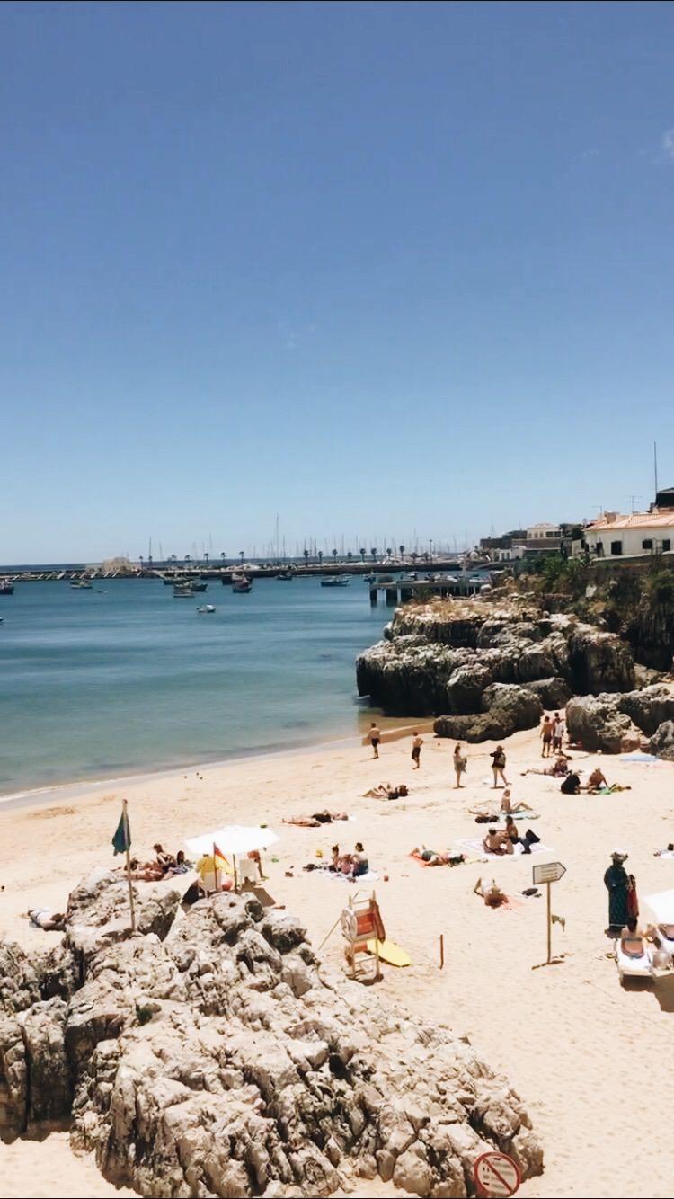 Cascais Strand Lissabon Reisebericht und Reisetipps