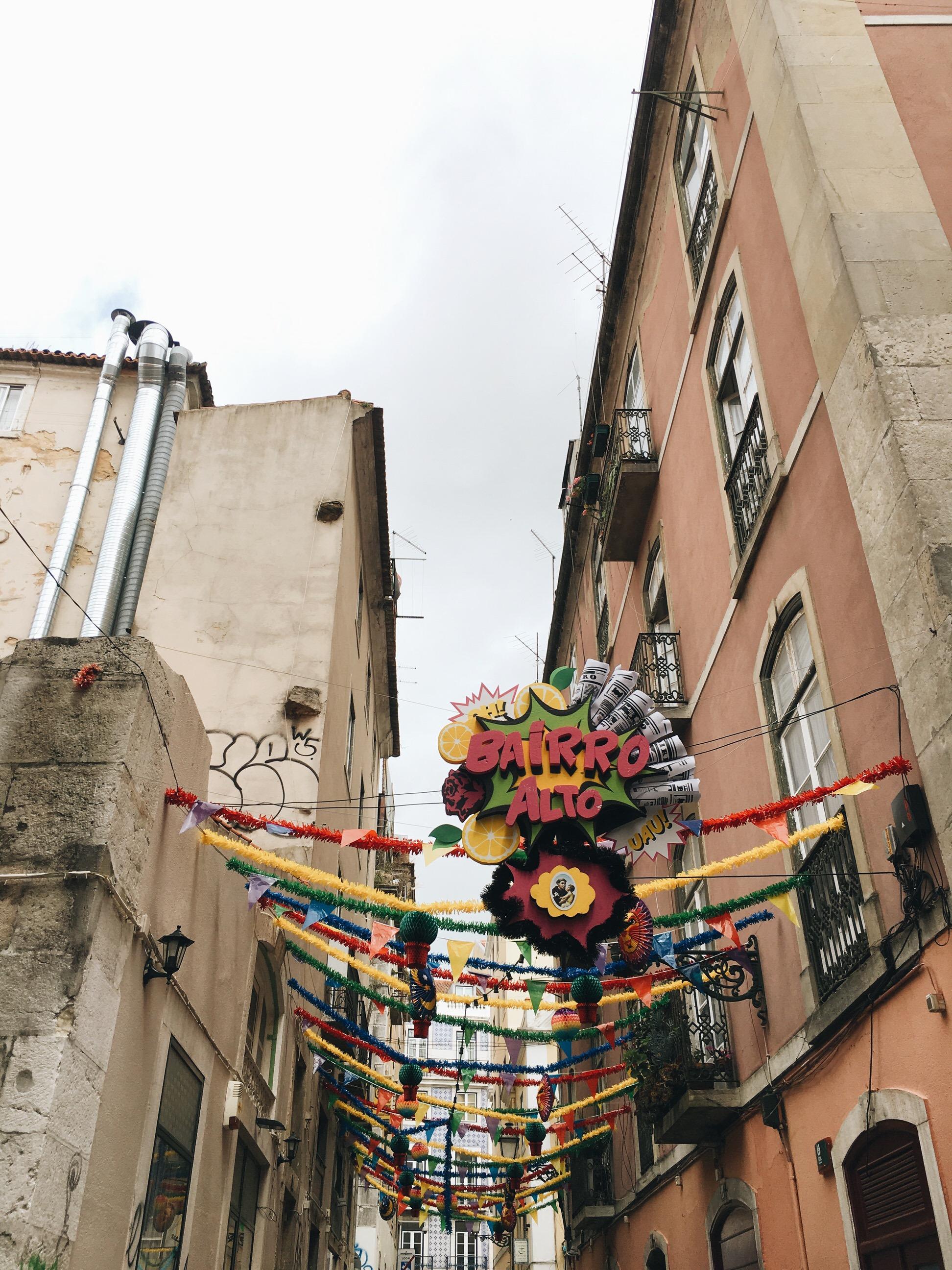 Reisebericht Lissabon Bairro Alto Viertel Citytrip