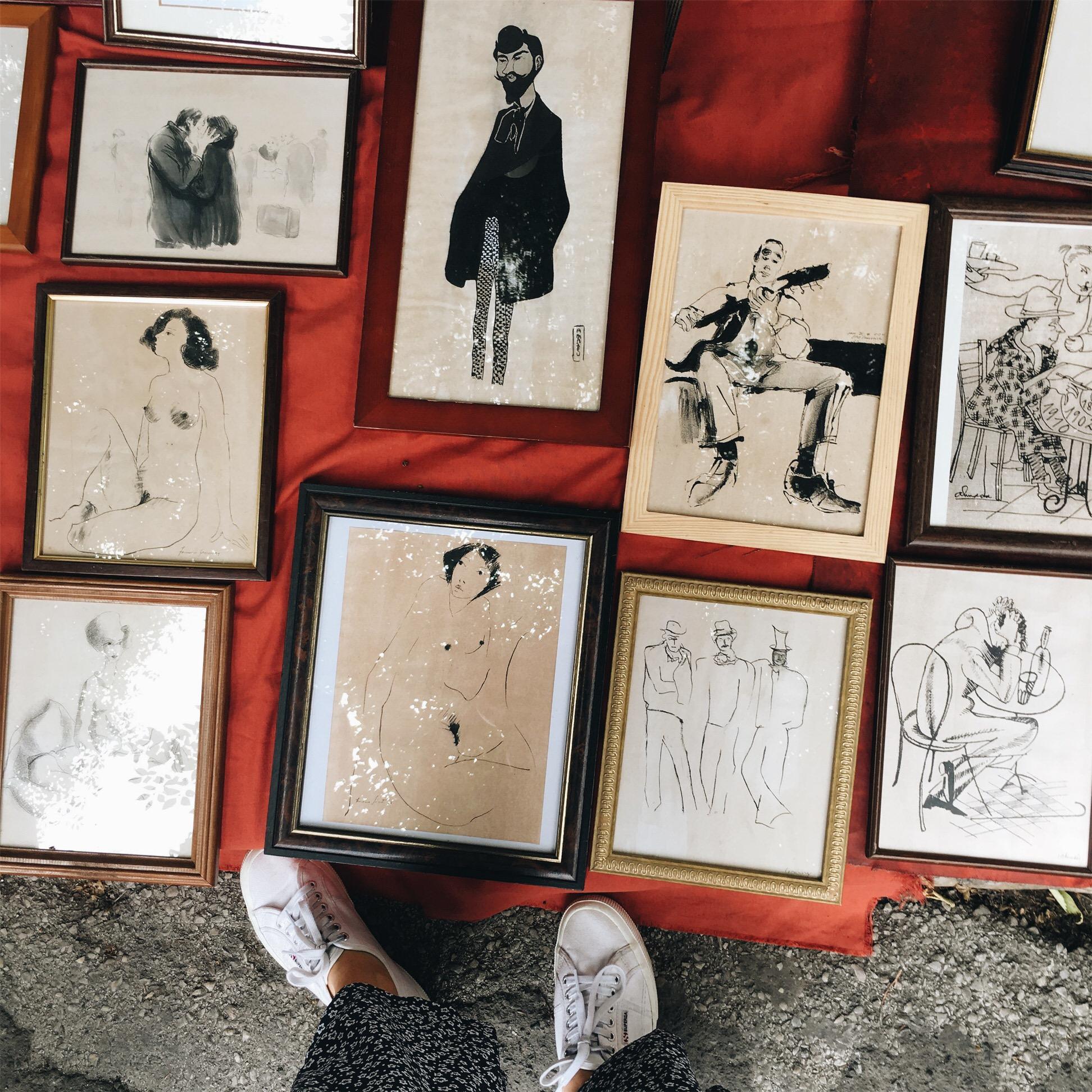 Feira da Ladra Lissabon Flohmarkt in meinen Reisetipps