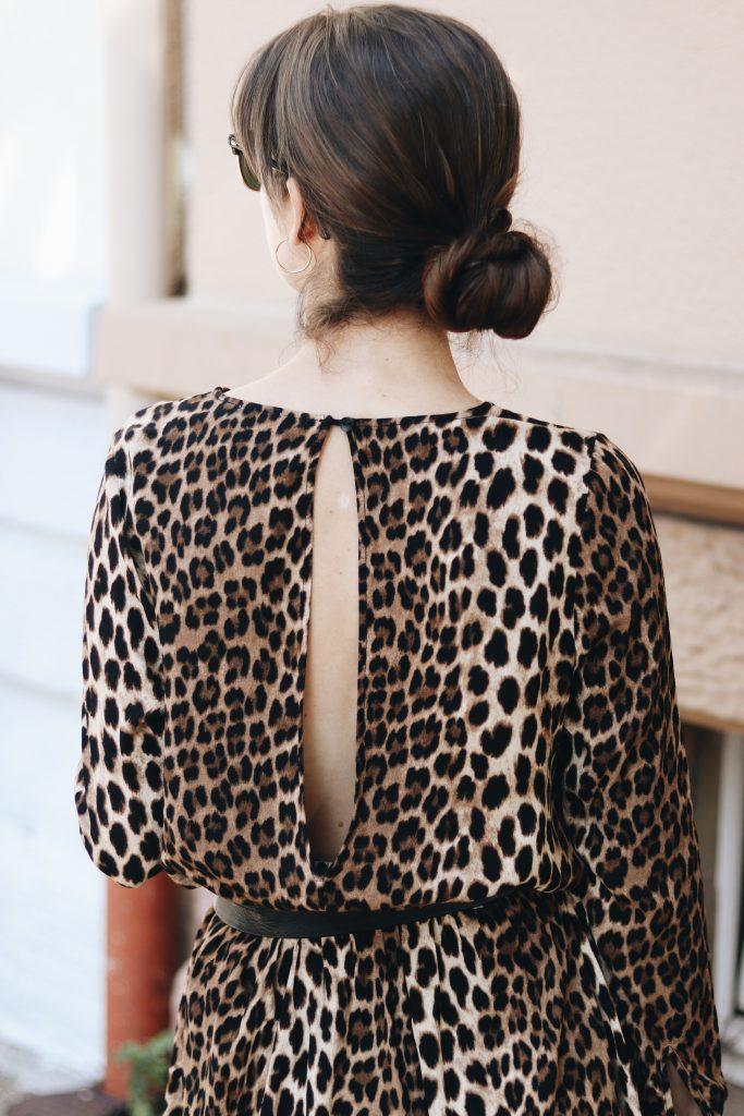 Leoprint Kleid Leopardenmuster Outfit Sommerkleid Modbloggerin Neele Freiburg Blog