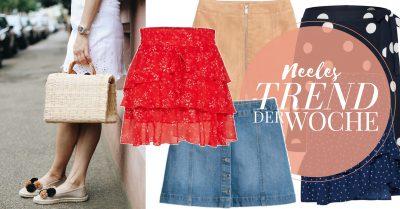 Miniröcke sind ein Modetrend im Sommer 2018 alles zum Trend auf meinem Modeblog