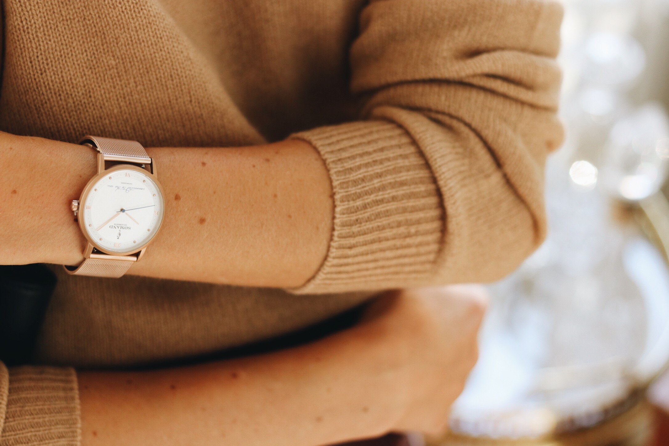 Uhrentrends auf meinem Modeblog Armbanduhr von Somad
