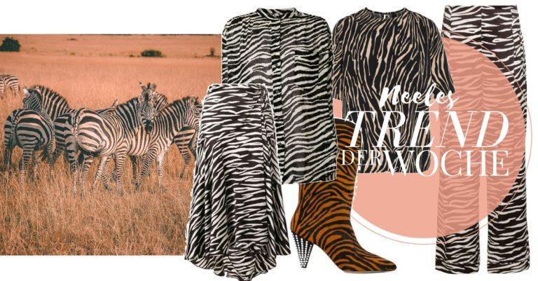 Zebraprint der Modetrend 2018 auf meinem Modeblog