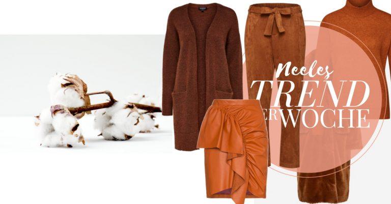 Die Trendfarbe Braun auf meinem Modeblog der Modetrend für Herbst Winter 2018
