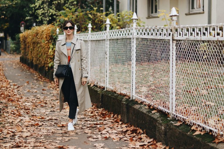 Modeblog Outfit Streetstyle Fair Fashion Second Hand Burberry Mantel Celine Trio Bag Sonnenbrille Blog Top 10 Herbst Outfit