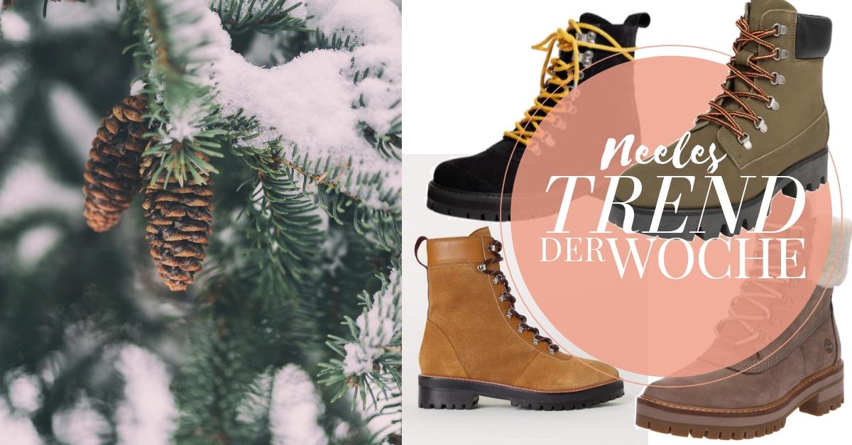 Der Schuhtrends Snow Boots auf meinem Modeblog