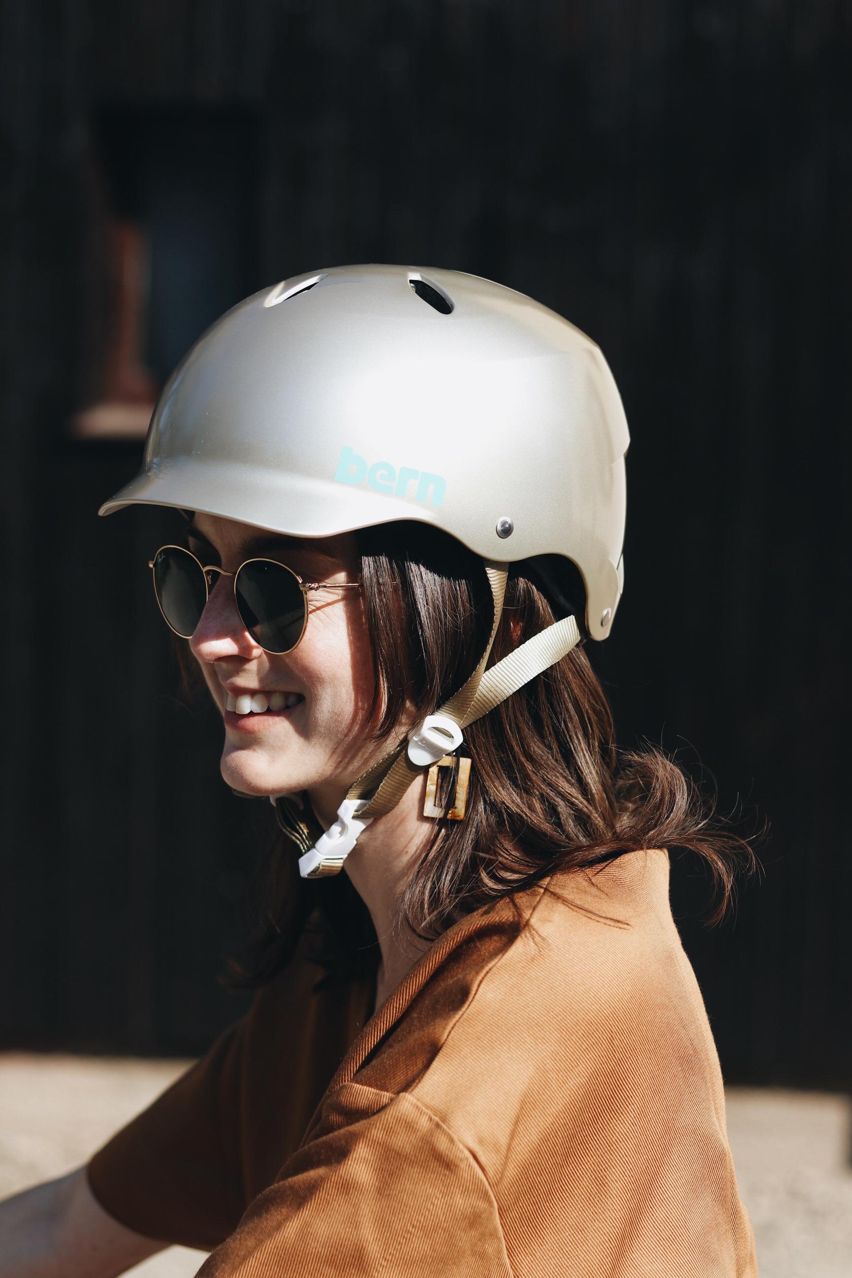 Bern Fahrradhelm Modebloggerin Blog stylisch