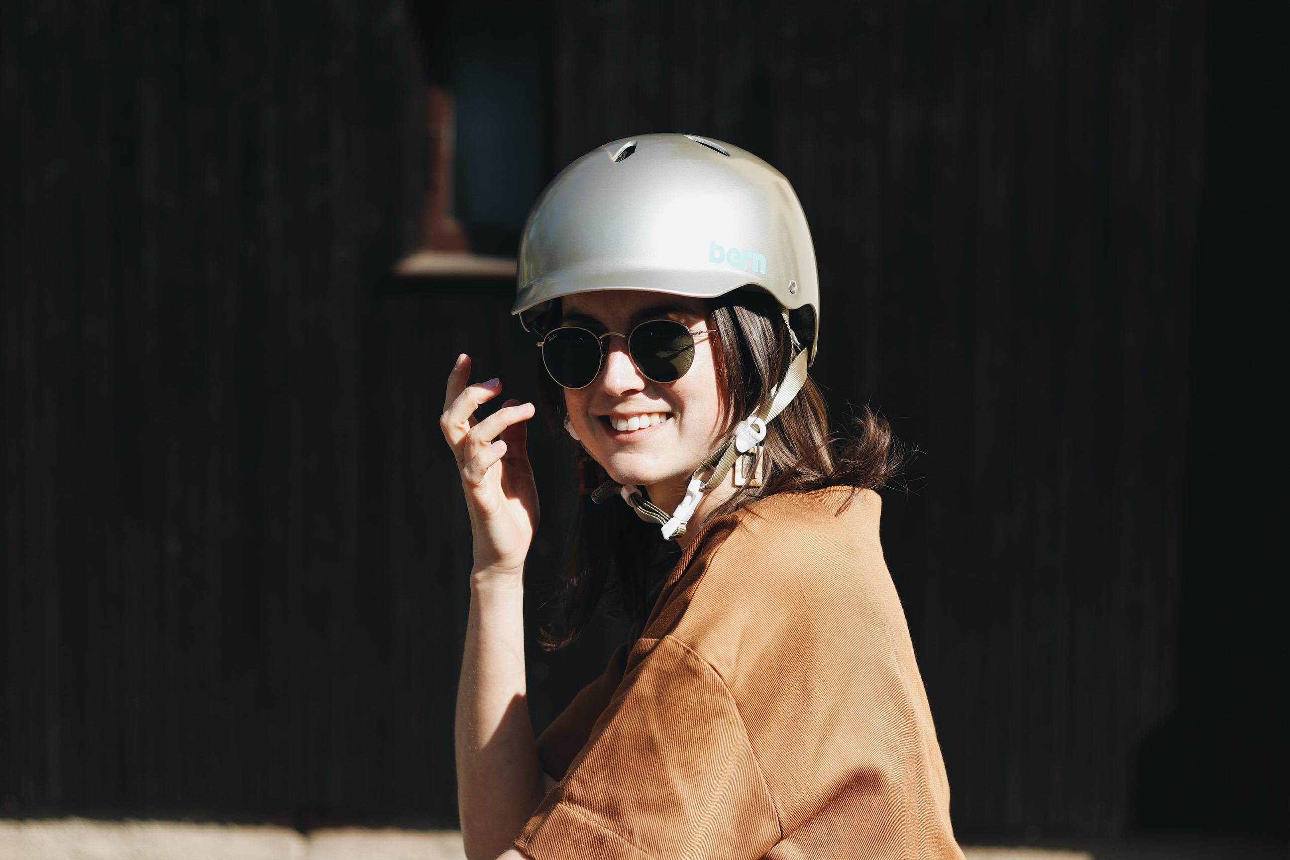 stylisch fahrradhelm Blog Frauen
